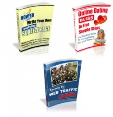 3 PLR eBooks - Unrestricted PLR