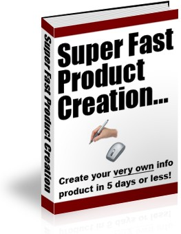 Super Fast Product Creation - PLR