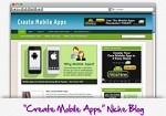 Create Mobile Apps Niche Blog Theme