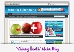 Kidney Health Niche Blog Theme