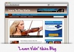 Learn Violin Niche Blog Theme