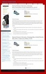 Brooks Shoes Blog Theme - PLR