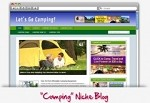 Camping Niche Blog Theme