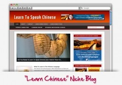 Learn Chinese Niche Blog Theme