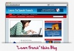 Learn French Niche Blog Theme