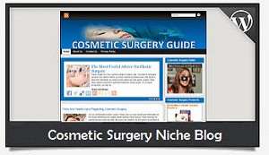 Cosmetic Surgery Niche Blog Wordpress Theme