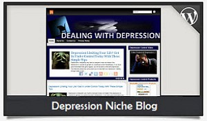 Depression Niche Blog Wordpress Theme