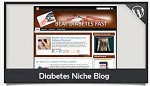 Diabetes Niche Blog Wordpress Theme