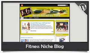 Fitness Niche Blog Wordpress Theme