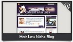 Hair Loss Niche Blog Wordpress Theme
