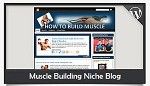 Muscle Building Niche Blog Wordpress Theme