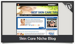 Skin Care Niche Blog Wordpress Theme