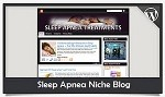 Sleep Apnea Niche Blog Wordpress Theme