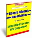 Google Adwords Negotiations - Resell Rights Included