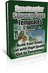 Spectacular Squeeze Page Templates - PLR