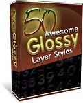 50 Glossy Layer Styles