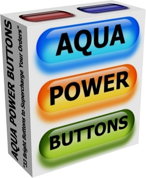 Aqua Power Buttons - PLR