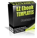 EZ Ebook Templates Pack 11