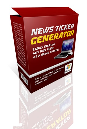 News Ticker Generator